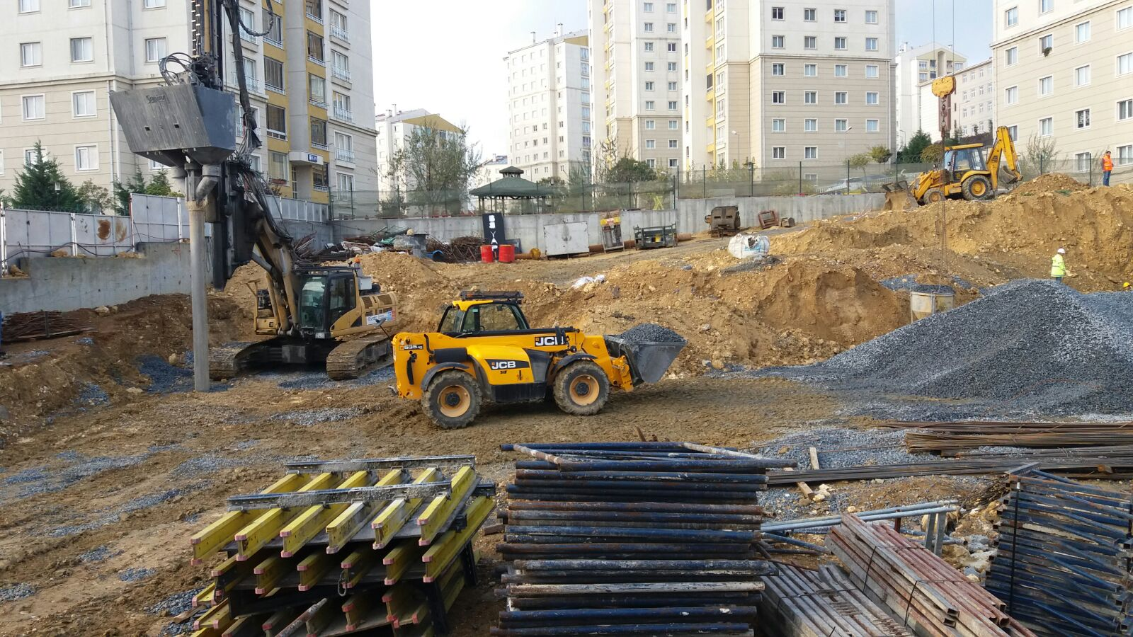 Kayasehir The soil improvement with Impact System for Disabled Rehabilitation Center was completed successfully.