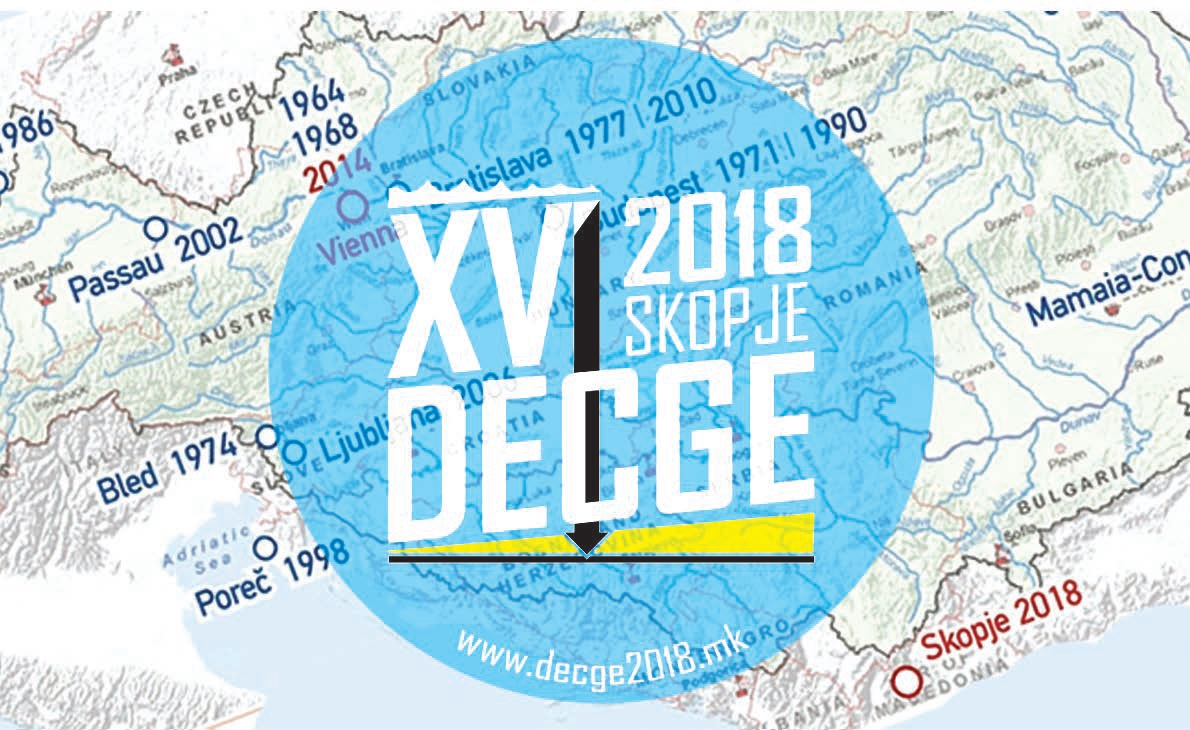 decge2018 Danube European Conference on Geotechnical Engineering (XVI. DECGE) will be held on 7 9 May, 2018 at Skopje, Macedonia.